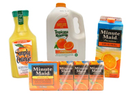 Orange Juice, Blends & Citrus Punch